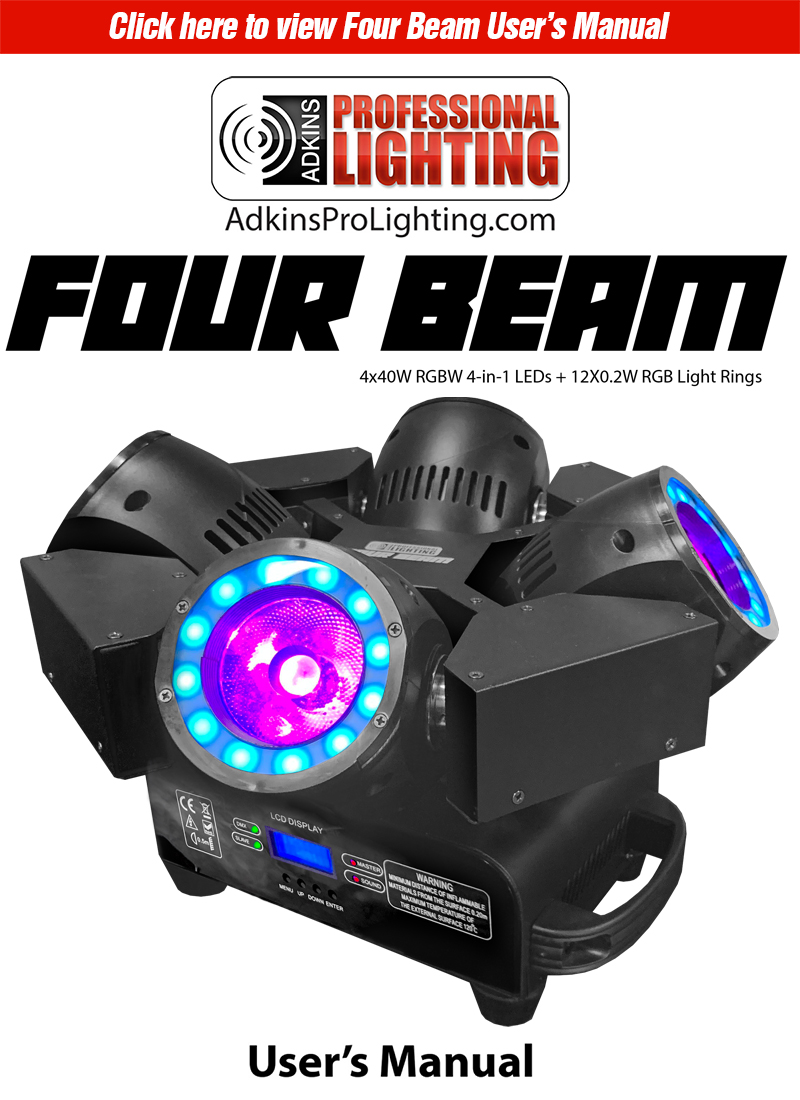 Four Beam Product Manual