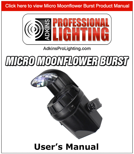 Micro Moonflower Burst Product Manual