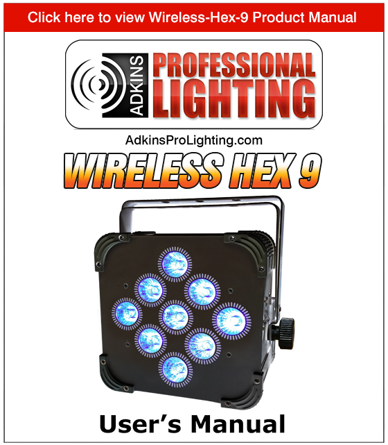 Wireless Hex 9 Product Manual