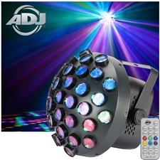 Contour LED RGB Mirror Ball Lighting Effect ADJ Startec