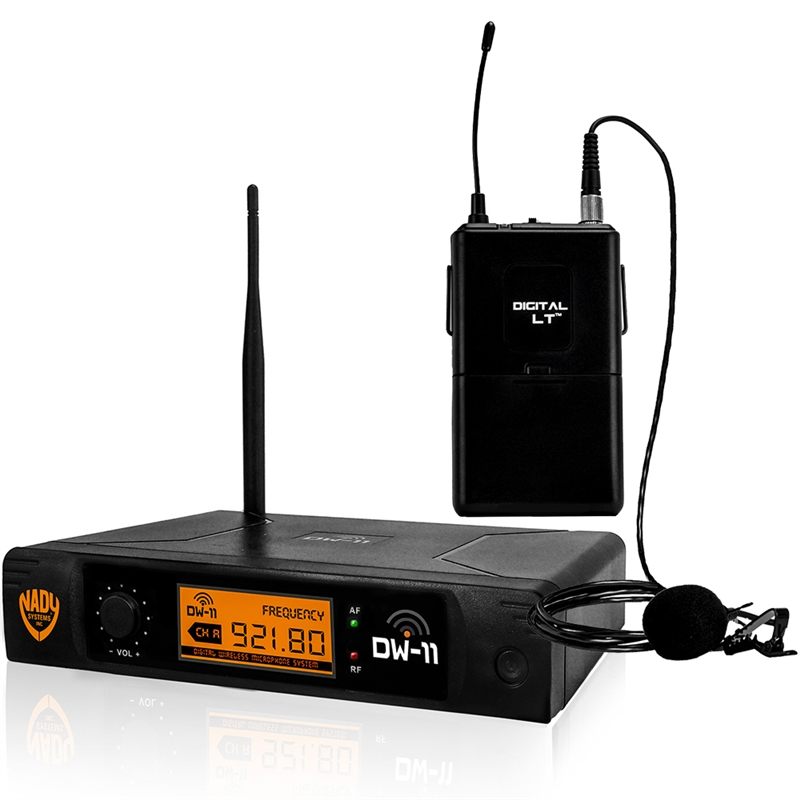 nady dw 11 lt 24 bit digital handheld wireless microphone system. Black Bedroom Furniture Sets. Home Design Ideas