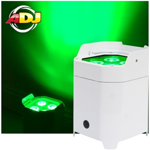 American DJ Element HEXIP Pearl RGBAW+UV Outdoor Battery Powered with Wireless DMX