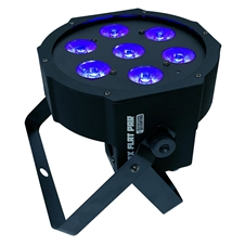 Ultra Bright LED FlatPar 7x10 Watt Hex RGBAW SlimPar Light
