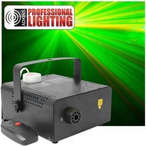 Fog Machine Laser Combo W/Remote