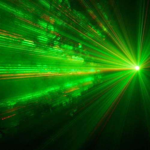 Fog Machine Laser Combo W Remote