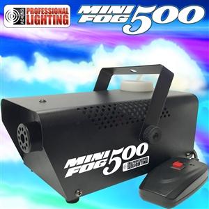 Fog Machine - Adkins Professional 500 Watt Mini Fog ...