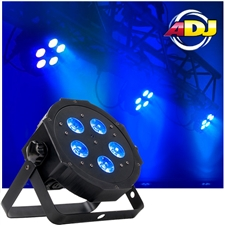 American DJ Mega Hex Par 6-in-1 RGBAW and UV LEDs