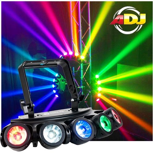 American Dj Penta Pix 5x15w Rgbw Led Beam Effect Light