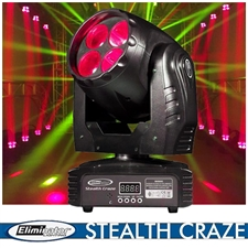 Eliminator Lighting Stealth Craze LED Moving Head