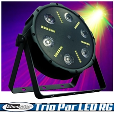 Eliminator Lighting Trio Par LED RG Multi Effect Par Light