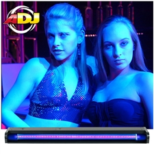 American DJ UVLED 24 UV Black Light Bar 24 Inches
