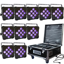 9x6W RGBAW+UV - Wedding Up Lights