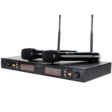 American Audio WM-219 2-channel UHF Wireless Microphone System