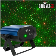 Chauvet DJ EZ Laser RGFX Battery Powered Red and Green Laser