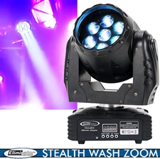 Eliminator Lighting Stealth Wash Zoom 7x12W LED Moving Head