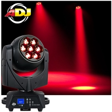 American DJ Vizi Hex Wash7 105W LED Moving Head Wash with Zoom